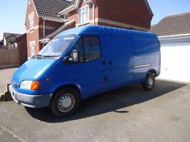 Blue Transit Van Diesel 1999