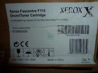 Genuine Xerox F110 Faxcentre replacement toner / drum