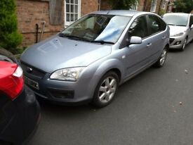 Ford focus 2007. 1.6 Sport, 107k miles.