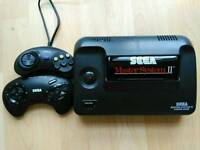 SEGA master system II with alex kid built in + 2 games