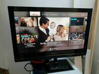 """Panasonic 37"""" Plasma TV FreeView Built In 3 HDMI HD Ready 720p Others Available"""