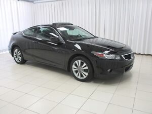 2010 Honda Accord 2DR EX-L Leather , Sunroof only 62k!!