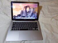 Apple Macbook Pro 13.3 inch,2.4GHz Intel Core 2 Duo,4GB.DDR3,250GB.HD,OS X Yosemite 10.10,A1278,2010