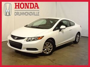 2012 Honda Civic LX +  REG. VITESSE + BLUETOOTH +  A/C
