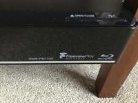 Panasonic Blu-ray Disc player / HDD Recorder. DMR- PWT550EB with Remote. No box.