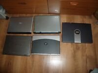 5 laptops for spares or repairs only