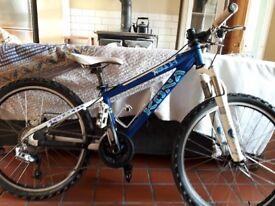 Kona Kula 24 child's mountain bike, fox forks, high spec for crosscountry, racing, downhilling