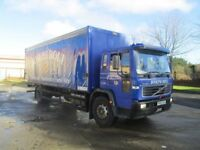 2003 volvo FL curtainside one uk company owner 250000 kms f/s/h full test £4000 derry belfast