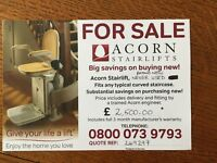 Brand New Acorn Stairlift