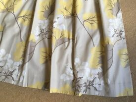 Pair of Laura Ashley curtains