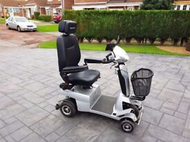 Quingo Vitess 2 Mobility Scooter Great condition only done 87miles Reverse Camera
