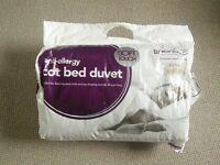 Cot bed bundle - duvets and bedding