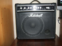 M,arshall MBB 30watt Guitar/ Bass Amplifier