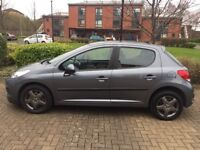 Lovely Peugeot 207 1.4 S 5 Door with Service History and MOT until April 2019
