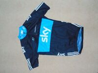 Adidas Sky Cycling jersey - short sleeve top age 14 but very small so would fit age 9/10/11