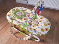Mothercare 2 in 1 Rocker/Bouncer with Vibration - Like New
