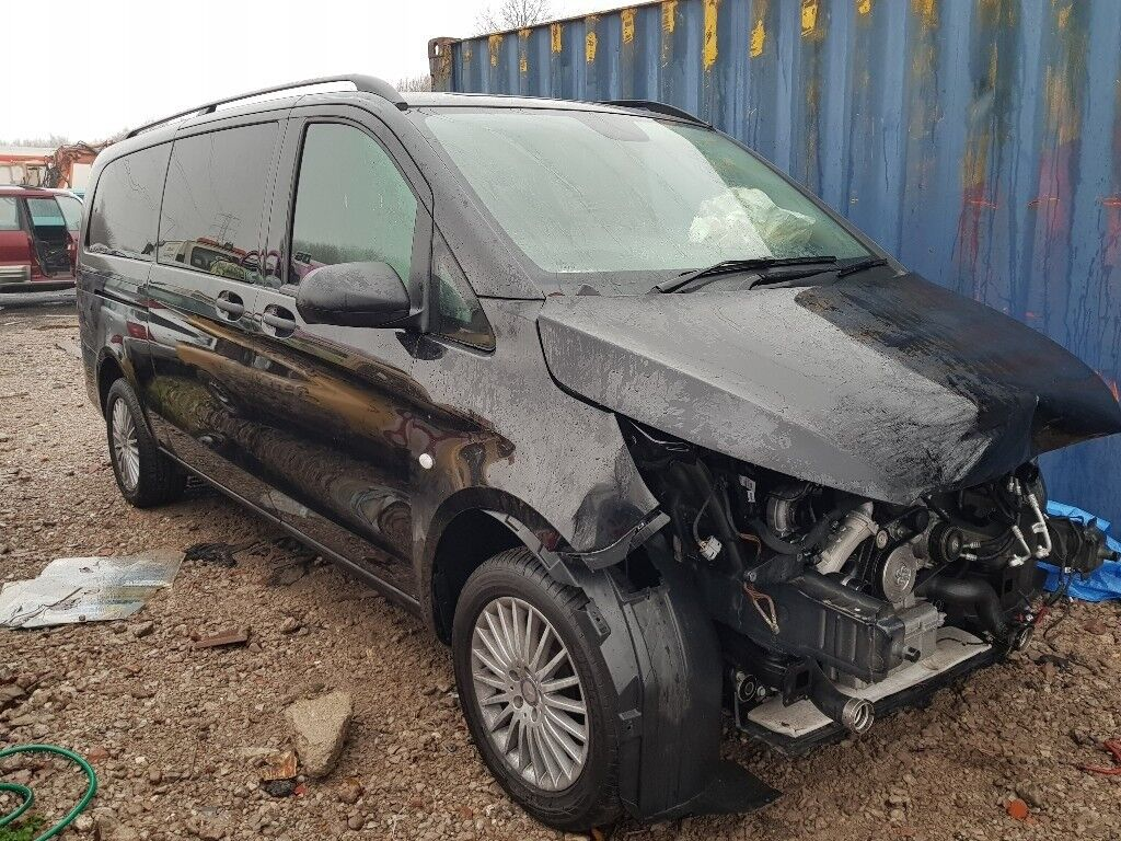 2017 mercedes vito 119 tourer xlwb 8 seater automatic minibus salvage damaged in manchester. Black Bedroom Furniture Sets. Home Design Ideas