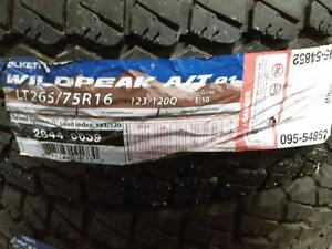 BRAND NEW PAIR LT 265/75R16 FALKEN WILDPEAK
