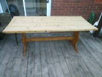 Farmhouse Table In Wiltshire
