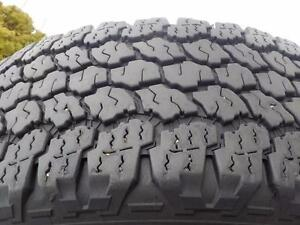2015 Goodyear Wrangler tires LT265/70R/17 All-Terrain Adventure ( Kevlar ) load range E