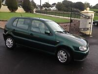 1997 VW Polo 1.4i petrol ++++ left hand drive ++++ MOT'd 1 year ++++++ free delivery