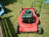 petrol lawn mower spares or repair engine runs