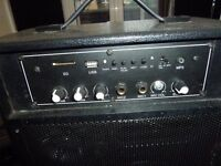 AMPLIFIER WITH AUX INPUTS