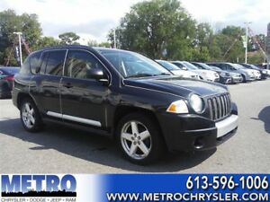 2009 Jeep Compass Limited -AS IS - GPS, SUNROOFS & LEATHER