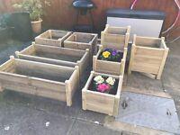 Garden planters starting at £10