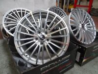 "19"" Vauxhall Insignia Alloy Wheels (8J) Multi-Spoke (Polished) 5x120 (ET35) ... BARGAIN PRICE! ! !"