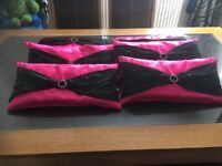Dining Chair Cushions - Pink
