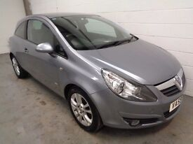 VAUXHALL CORSA , 2010 , ONLY 28000 MILES + HISTORY/JUST SERVICED , YEARS MOT , FINANCE WARRANTY