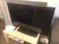"40"" LCD television"
