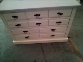 very nice chest of drawers and small chest of drawers