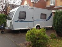 Bailey Orion Evo-4 fixed bed 2012 4 Berth Light weight Tourer