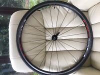 Wheelset with new tyres included