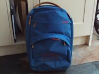 Timberland - blue - two wheeled suitcase / cabin bag hand luggage