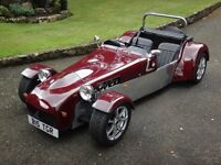 Tiger Supercat XL (like Caterham/Westfield). Built 2006. Only 3500 miles. Reg B15 TGR (big tiger).