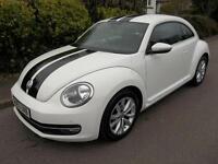 Volkswagen Beetle 1.4 TSI Design 3dr (white) 2012