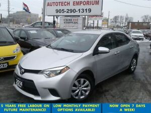 2014 Toyota Corolla LE Camera/btooth/htdsts&ABS