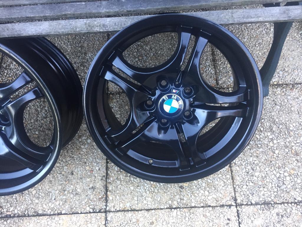 Genuine BMW staggered Alloy Wheel Set