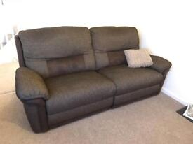 Recliner 3 seater sofa (electric)
