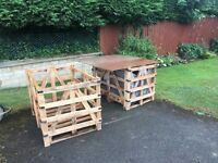 FREE - wooden crates & pallets