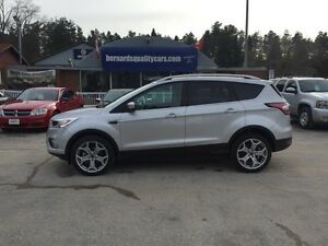2017 Ford Escape Titanium | 4WD | LEATHER | NAV | LOADED