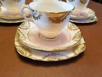 Bone China Tea cups, saucers and plates