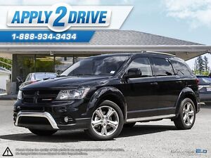2016 Dodge Journey AWD Loaded Leather, Sunroof Navi 7 Passenger