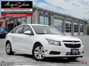 2014 Chevrolet Cruze ONLY 80K! **BACK-UP CAMERA** CLEAN CARPROOF