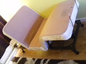 CAN DELIVER - CRAFTMATIC MOBILITY DISABILITY ELECTRIC SINGLE BED WITH MATTRESS AND MASSAGES