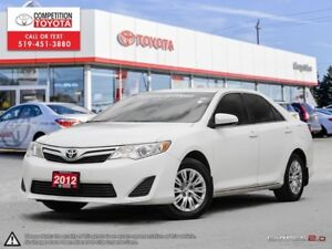 2012 Toyota Camry LE One Owner, No Accidents, Toyota Serviced