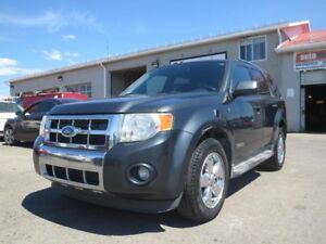 2008 Ford Escape **4x4** TOIT OUVRANT + CUIR!